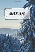 Swaziland: Ruled Travel Diary Notebook or Journey  Journal - Lined Trip Pocketbook for Men and Women with Lines