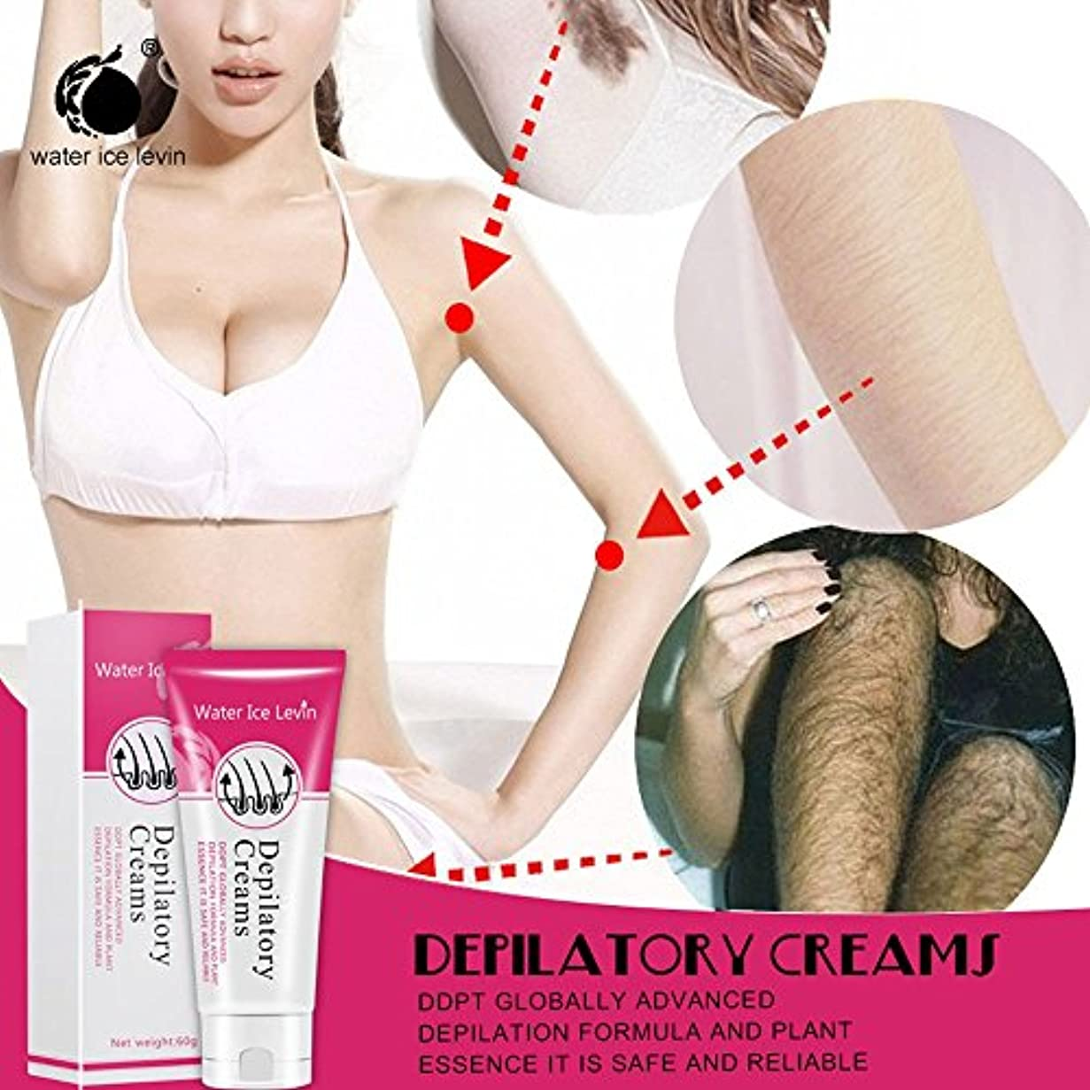 クレジット相関する習慣SakuraBest Painless Depilatory Cream for Legs Armpit Hair Removal