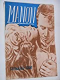 情婦マノン 1950年映画パンフレット 新宿東宝の館名入り アンリ・ジョルジョ・クルーゾー監督 セシル・オーブリー ミシェル・オクレール セルジュ・レジアニ