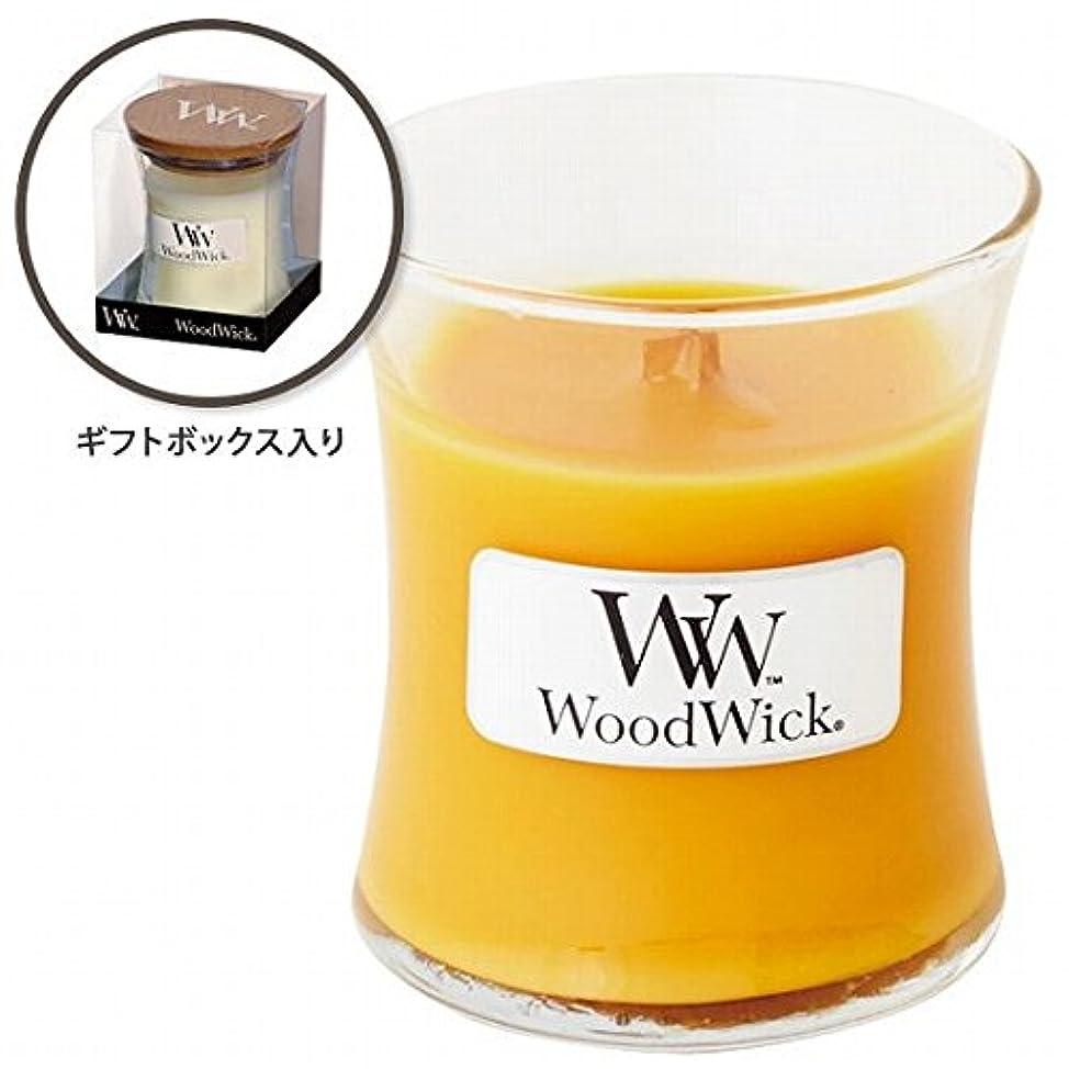 恐ろしいです承認するピーブウッドウィック( WoodWick ) Wood WickジャーS 「スパークリングオレンジ」
