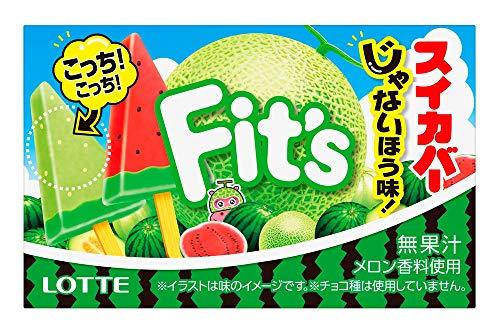 ロッテ Fit's(スイカバーじゃないほう味!) 12枚 ×10個