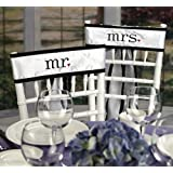 WMU Together Mr. & Mrs. Chair Sashes