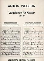 Variationen: op. 27. fuer Klavier.