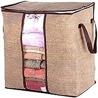 XuBa 布団収納袋 収納ケース ホーム整理収納袋 寝具収納袋 ポータブル 高容量 折り畳み可 リネン