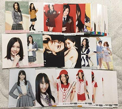 SKE48 AKB48 生写真 100枚 セット まとめ 松井珠理奈 松井玲奈 他