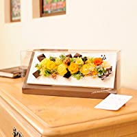 プリザーブドフラワー a chocolate board(フレッシュ) 【電報・祝電付きのお花】 <誕生日プレゼントに 結婚記念日のお祝い花 出産祝いの贈.