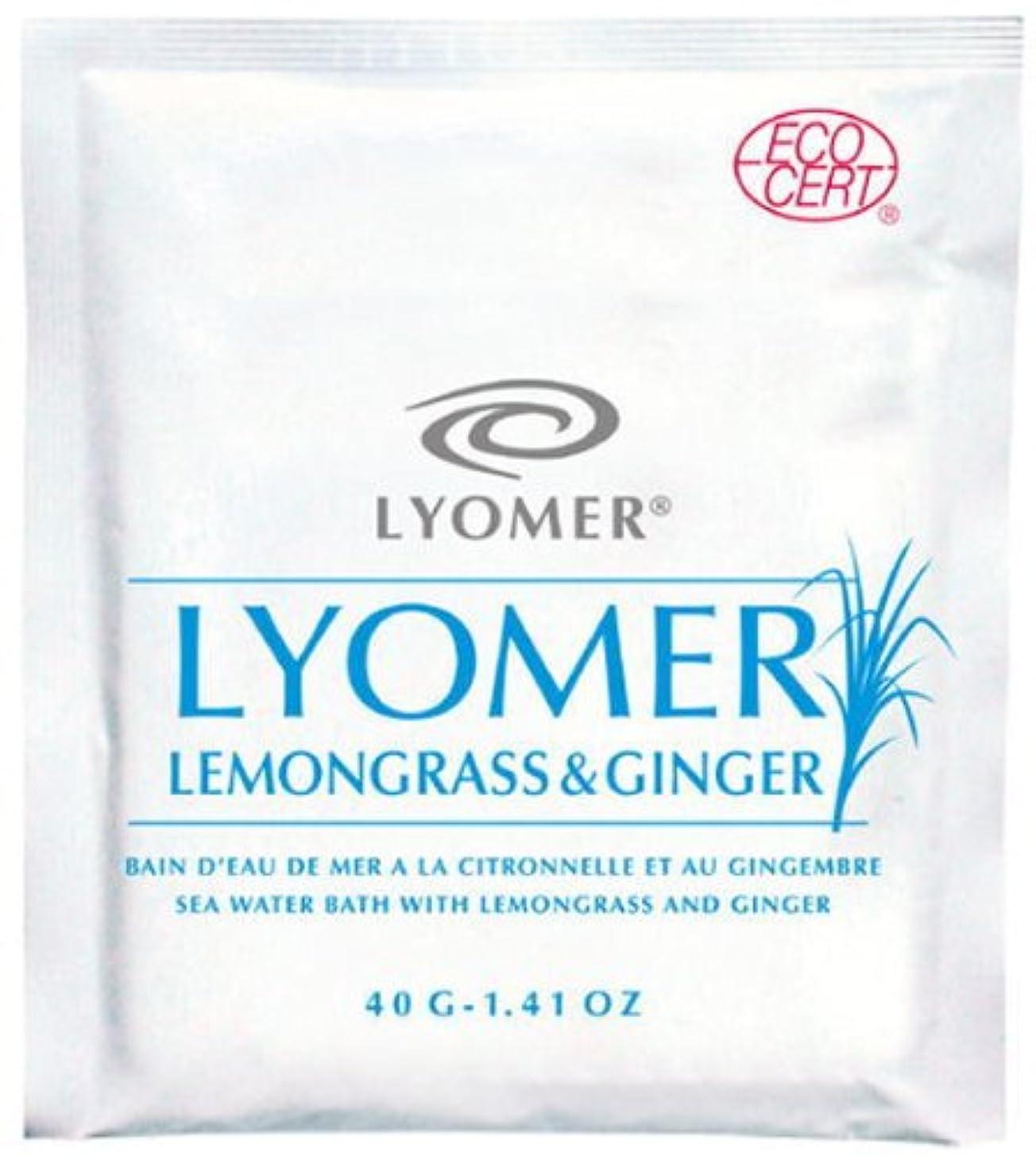 折り目クロニクル想像力豊かなリヨメール レモングラス&ジンジャー 40g