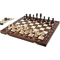 'Senator' Chess, Checkers and Backgammon Set [並行輸入品]
