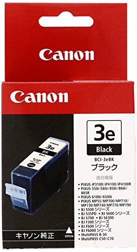 Canon 純正インクカートリッジ BCI-3E ブラック BCI-3EBK