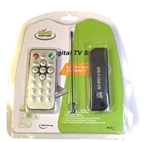 DVB-T+DAB+FM USB チューナー  RTL2832U+R820T
