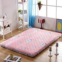 厚手の綿のマットレス、学生寮用滑り止めマット、家庭用寝具用洗える (色 : C, サイズ さいず : 180cm)