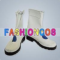 ★サイズ選択可★男性28CM UA1047 魔法少女リリカルなのは 高町なのは コスプレ靴 ブーツ