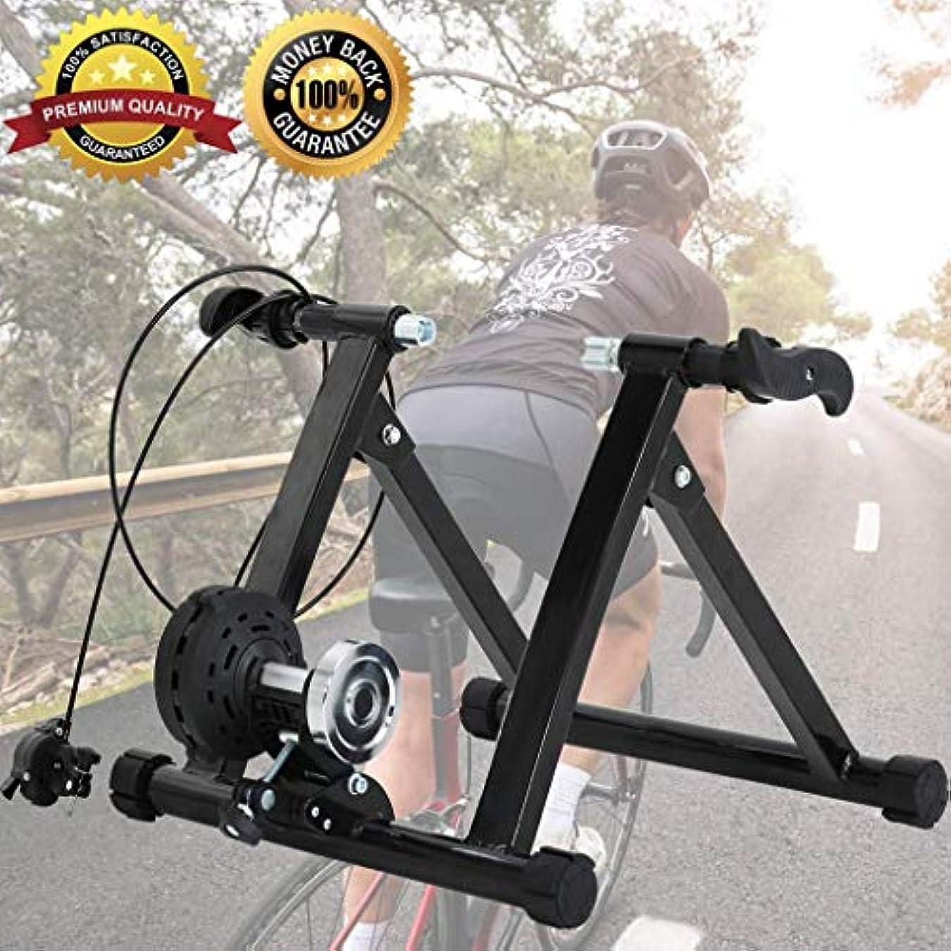 化粧秘書男ポータブル屋内抵抗スポーツブラケット自転車トレーニングマシン付きノイズリダクションホイール磁気トレーニング自転車マウンテン固定自転車ブラケット