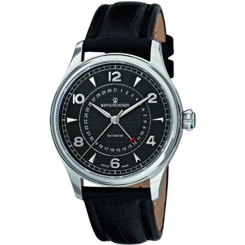 [レヴュートーメン]REVUE THOMMEN 腕時計 XLARGE DAY POINTER 10012.2537 メンズ 【正規輸入品】