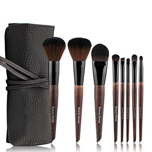 化粧筆 人気 メイクブラシセット 化粧ブラシ セット コスメ ブラシ8本 フェイスブラシ パウダー チークブラシ (8本)