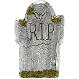 Tombstone Mossy RIP Decoration