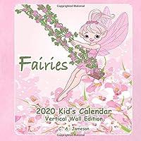 2020 Kid's Calendar: Fairies Vertical Wall Edition