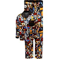 BioWorld Merchandising Star Wars Classic Movie Scenes Traditional Pajamas for Men