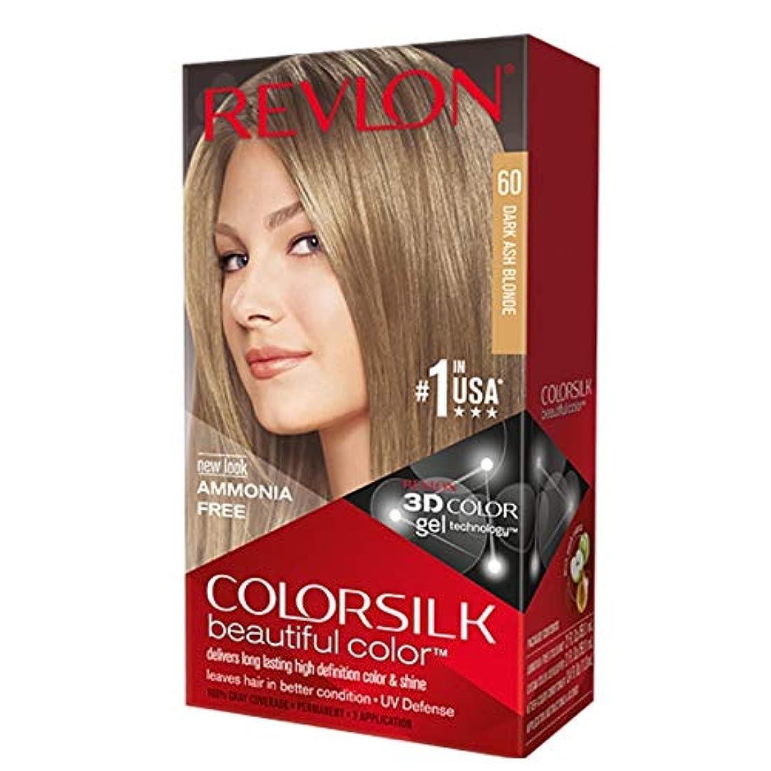 海外直送肘 Revlon Colorsilk Natural Hair Color 6A Dark Ash Blonde, 6A Dark Ash Blonde each