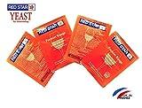 イーストパック Red Star ワインイースト Pasteur Red Premier Rouge 5g 4パック (日本語説明書付き)