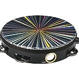 "Remo TA-4108-48 Radiant Tambourine Single Row 8"" Drum Multi"
