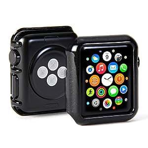 GMYLE アップルウォッチ Apple Watch 42mm 専用 軽量薄型 プレミアム ハード ケース - キラキラブラック