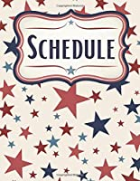 Patriotic Stars Daily Journal, Scheduler, and Planner: America Organizer For Republicans, Democrats, and Libertarians