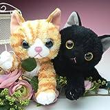 いっしょがいいね 可愛い子猫シリーズ ぬいぐるみ トラ猫 S 15cm オレンジ 動物 ねこ 子供 キッズ こども 女の子 誕生日 ギフト