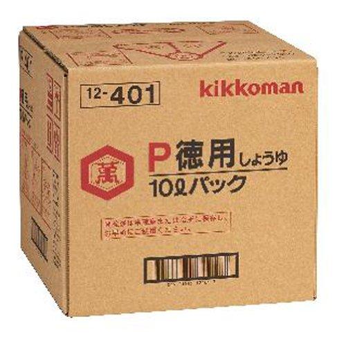 キッコーマン P 徳用しょうゆ BIB 10L