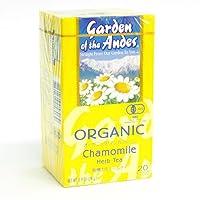 ガーデンオブアンデス オーガニックハーブティー カモミール 10箱(ティーバッグ20包/箱)