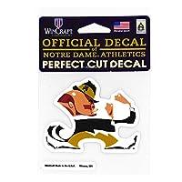 (ウィンクラフト) WINCRAFT 【NCAA PERFECT CUT DECAL】 (ノートルダム ファイティング アイリッシュ-NOTRE DAME FIGHTING IRISH-) [並行輸入品]