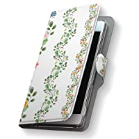 Xperia XZs 602SO ケース カバー 手帳 スマコレ 手帳型 レザー 手帳タイプ 革 スマホケース スマホカバー エクスペリア XZs 009460 Sony ソニー softbank ソフトバンク フラワー 蝶 カラフル 602so-009460-nb