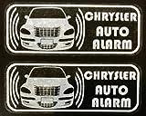 クライスラー PTクルーザー GT セキュリティステッカーc003wos