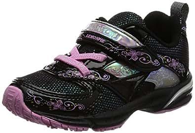 [シュンソク] 運動靴 LEMONPIE SLIM  LEC 3660 B ブラック 15 E