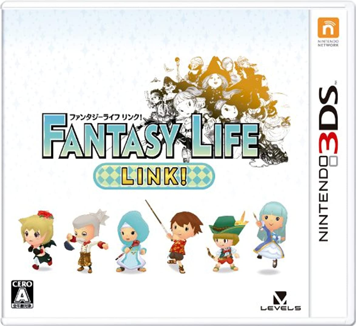 虐殺サイドボードエレガントファンタジーライフ LINK! - 3DS