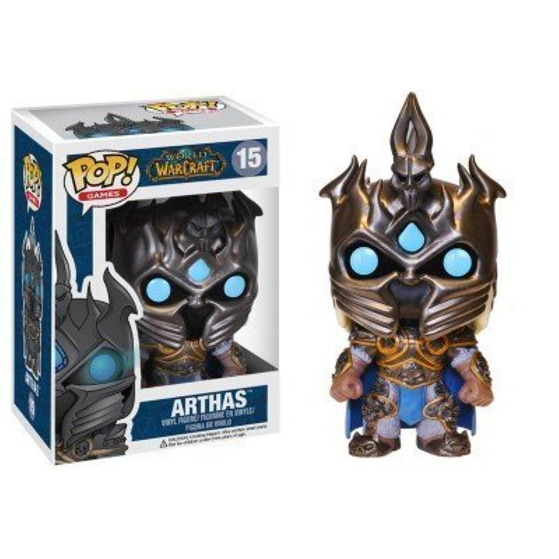 Blizzard World of Warcraft Arthas action figure Bobble Head Classic Toys