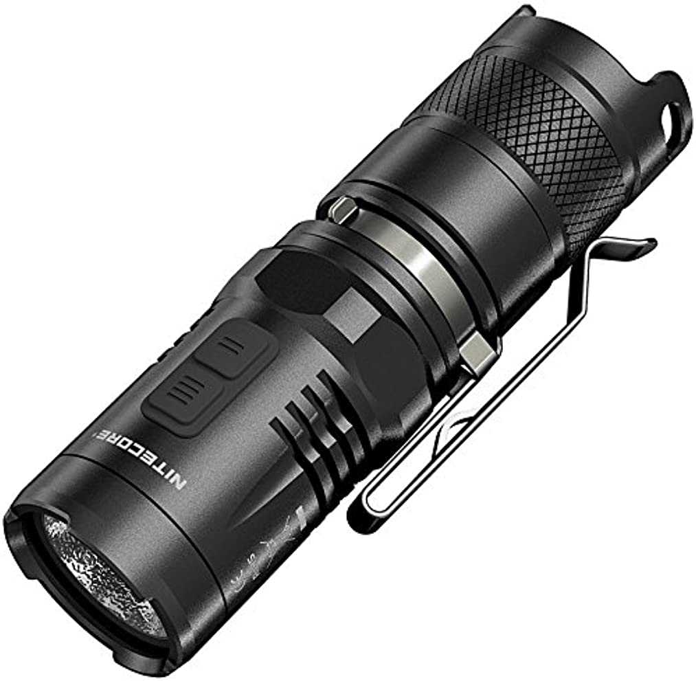 絶妙スクワイアイルNITECORE (ナイトコア) MT10C CREE XM-L2 U2 白色LED/赤色LED搭載 明るさMAX:920ルーメン CR123×1本