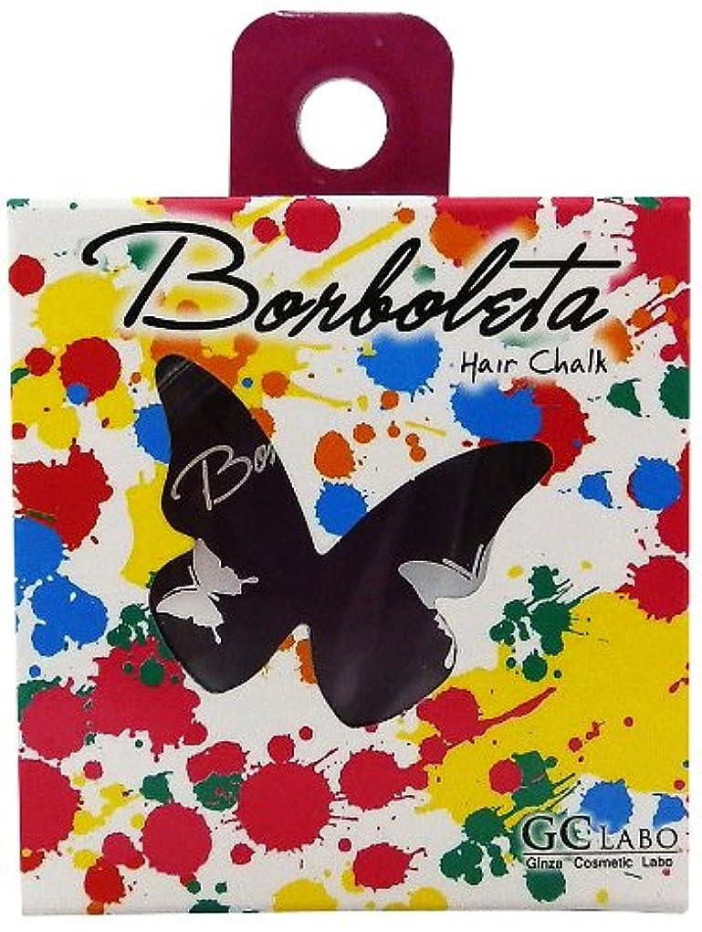 アシスタント櫛魔術BorBoLeta(ボルボレッタ)ヘアカラーチョーク パープル