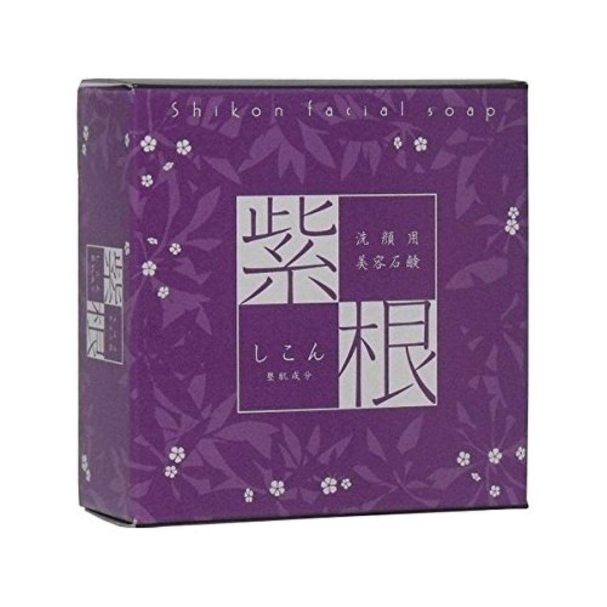 動縞模様の収束する紫根石鹸110g(オリジナル泡立てネット付き)3個セット【魔女たちの22時で話題!】