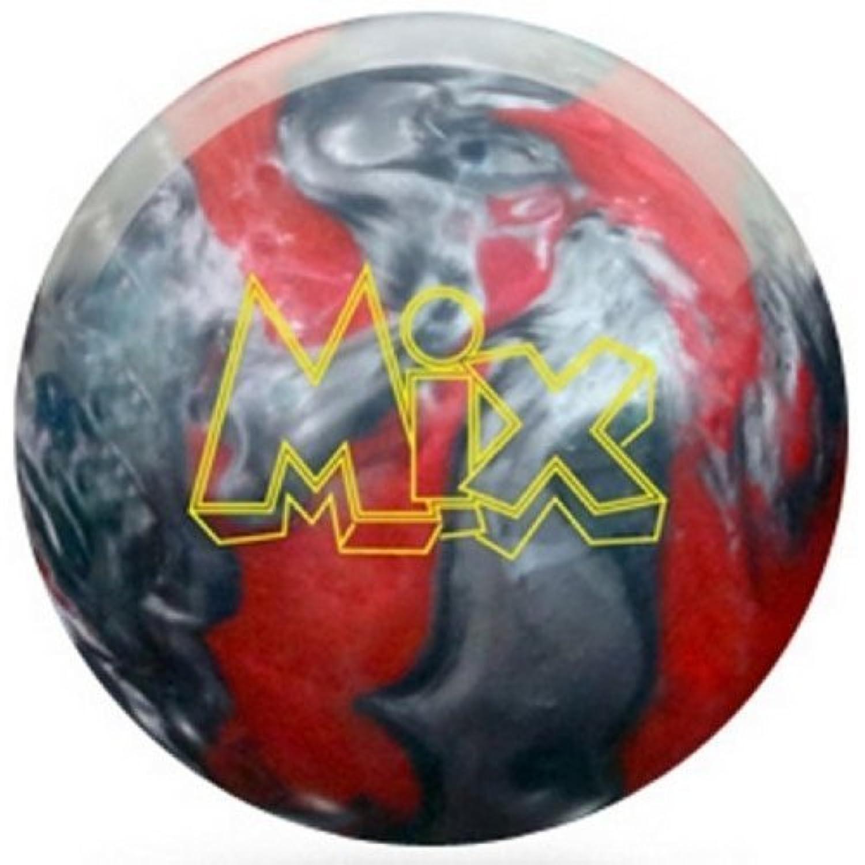 Storm Mixウレタンボーリングボール、レッド/シルバー、8-pound by嵐