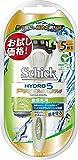 シック Schick 5枚刃 ハイドロ5 プレミアム ホルダー 敏感肌用 お試し用 替刃 1コ付 男性カミソリ