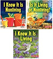 Lerner Publishing Group 556848 Living Or Nonliving Book Set (Set of 3) [並行輸入品]
