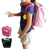 両手が使えて通学を安全に!ランドセル用 収納便利バッグ サンドセル (ネイビー)