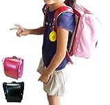 両手が使えて通学を安全に!ランドセル用 収納便利バッグ サンドセル (ラベンダー)