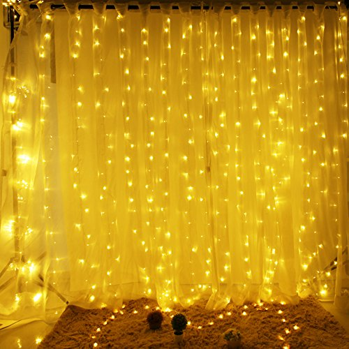 RoomClip商品情報 - Valuetom(バリュートム)イルミネーション ライト 300球 LED 防滴形 8種類パターン 3m×3m 三色選択可能 (ウォ-ムホワイト)