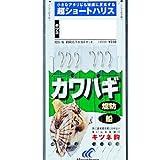 ハヤブサ(Hayabusa) 皮ハギ 超ショートハリス キツネ鈎 1-1.5 HD201-1-1.5