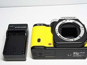 PENTAX デジタル一眼カメラ K-01 ボディ ブラック/イエロー K-01BODY BK/YE