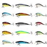 15個入り 釣具 ルアーセット 海水淡水対応 釣りルアー 釣りの餌 偽餌