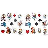 Beistle不思議の国のアリス Alice In Wonderland Cutouts マルチカラー 54781