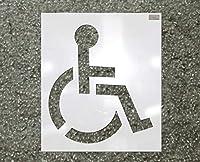 ステンシル、Handicapシンボル、39x 39in。